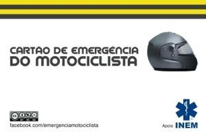 Cartão de Emergência do Motociclista é uma realidade